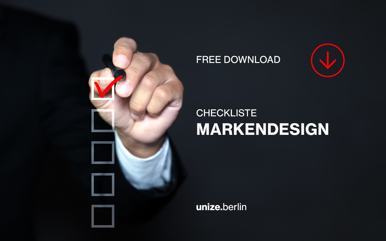 Checkliste Markendesign unize.berlin