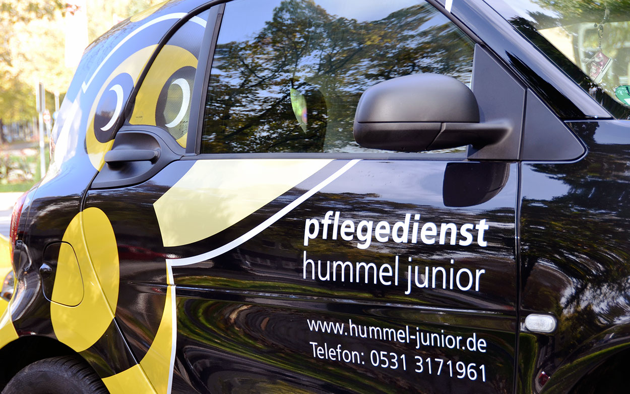 Vehicle labelling Hummel Junior