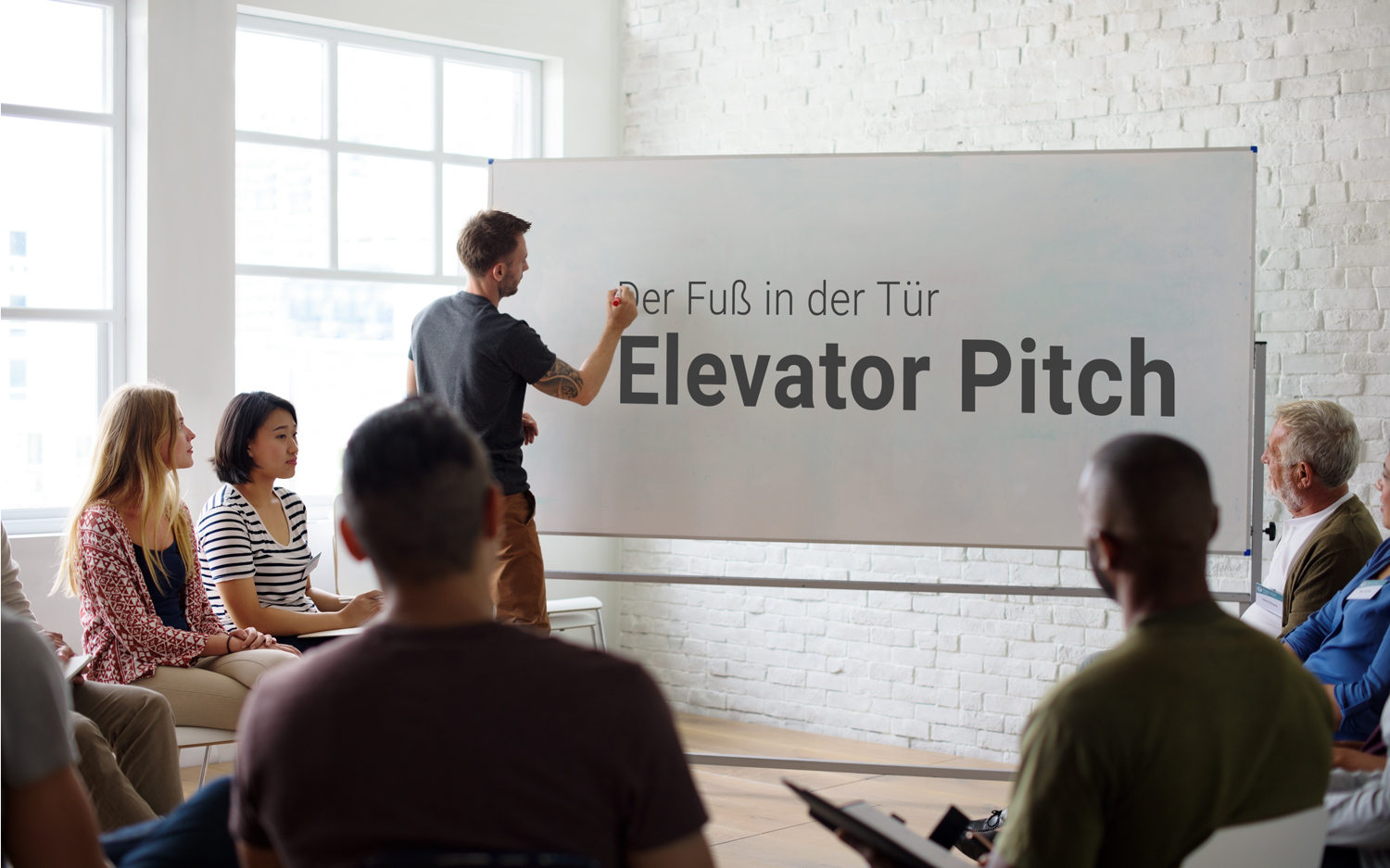 Der Elevator Pitch - der Fuß in der Tür